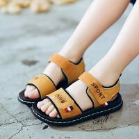 男童凉鞋2018新款真皮儿童沙滩鞋韩版宝宝凉鞋中大童夏季小孩童鞋