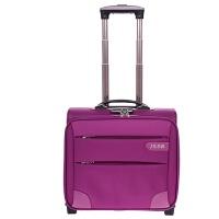 16寸小空姐登机旅行箱商务行李箱拉杆箱单向轮男女14/18寸牛津布