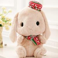 兔子公仔毛绒玩具兔兔垂耳抱枕长耳朵兔小白兔玩偶可爱女生日礼物