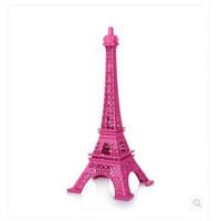 法国巴黎铁塔模型金属烤漆摆件家居装饰摄影百搭道具婚庆浪漫礼物