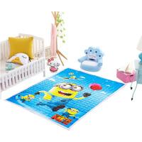 婴儿童宝宝棉爬行垫爬爬垫全棉可机洗加厚防滑客厅隔凉地垫