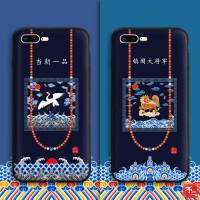 buer镇国大将军苹果7手机壳x潮男女款iphone6plus个性创意硅胶8p