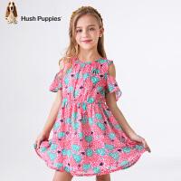 【4折价:171.6元】暇步士童装年夏季女童时尚连衣裙HLX80336