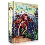 【顺丰包邮】美人鱼3D立体书 The Little Mermaid Pop-Up 童话女孩公主英文原版绘本 3-4-5