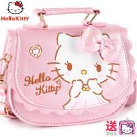 Hellokitty儿童公主时尚包包女孩手提斜挎包宝宝女童迷你可爱小包