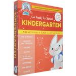 Get Ready for School Kindergarten 入学准备 幼儿园早教精装综合活动练习册 字母数字相