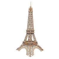 玩具 diy仿真大儿童木质立体拼图建筑积木制手工拼装模型