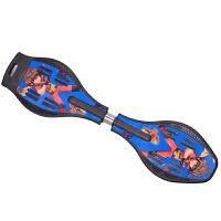 【当当自营】炫梦奇活力板滑板 两轮儿童成人滑板车游龙灵蛇板漂移闪光轮送背包 神秘黑小板经济套餐