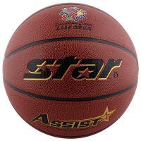 star世达篮球 室内外通用PU成人比赛训练7号篮球BB4417