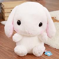 20180703035306326韩版可爱小兔兔双肩包软妹超萌毛绒背包卡通儿童小白兔子毛绒绒包