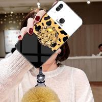 小米Max3手机壳MIUIMax3时尚mlMax3豹纹三毛球xiaomiMax3镶钻mx3秋冬xmM
