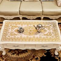 20180726143804122烫金桌布PVC防烫免洗茶几垫餐现代简约桌台布长方形镂空盘垫欧式