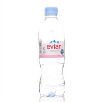 Evian法国依云天然矿泉水500ML*24(法国进口 瓶)