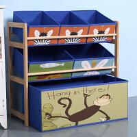 【支持礼品卡】实木玩具架玩具收纳架储物架整理架懒角落儿童玩具柜家用玩具收纳3xr