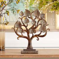 菩提树客厅书房玄关卧室 家居装饰品 图片一个装