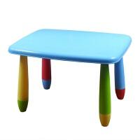 儿童桌椅 幼儿园桌椅子宝宝学习桌椅彩色塑料游戏桌画画桌