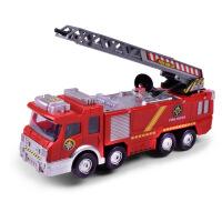 儿童汽车电动车玩具 喷水音乐消防车仿真玩具车新