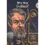 【现货】英文原版 Who Was Galileo? 伽利略是谁 名人传记 中小学生读物