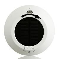 车载空气净化器太阳能车用氧吧加湿香薰负离子除异味甲醛摆件礼品