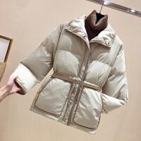 羽绒女短款冬季收腰棉衣修身棉袄网红外套潮