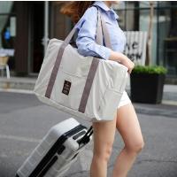 折�B旅行包女手提旅行袋大容量出差短途男可登�C防水衣物收�{行李 大
