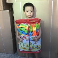 儿童大块宝宝积木 男女孩大颗粒拼装拼插1-2周岁婴儿积木玩具
