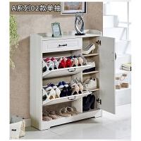 超薄翻斗鞋柜家用门口多功能简约现代门厅柜入户大容量木质玄关柜