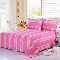床上用品老粗布单独被套棉单人双人条纹被套学生婚庆