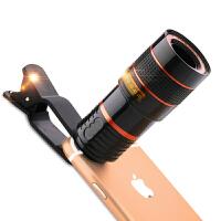 望远镜头高清看演唱会拍直播适应苹果华为oppo手机长焦