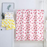 斜月三星 全棉泡泡纱婴儿盖毯夏季薄款儿童盖被毛巾被新生儿洗澡抱被