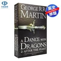 英文原版 魔龙的狂舞 冰与火之歌第二卷 A Dance With Dragons: Part 2 After the F