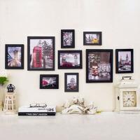 相框墙套装儿童画框创意组合 右手边 实木相框挂墙上