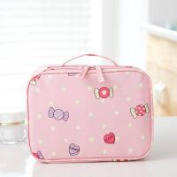 可爱旅行化妆品包小号便携迷你韩国简约少女心口红护肤品收纳包袋