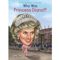 【现货】英文原版 Who Was Princess Diana? 戴安娜王 妃是谁?名人传记系列 中小学生读物
