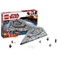乐高星球大战系列 75190 First Order 歼星舰 LEGO 积木