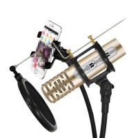 ?手机麦克风唱歌录音直播型OPPO安卓VIVO苹果话筒?