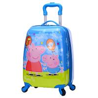 卡通拉杆箱儿童旅行箱女童行李箱男孩箱子宝宝拉箱16寸旅游箱皮箱