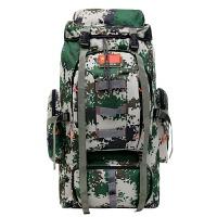 部队2018厂家直销迷彩登山包80L战术军野外露营背囊户外双肩包