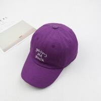 新款刺绣英文字母甜美可爱户外遮阳帽男女士夏天鸭舌棒球帽子LCQ 可调节
