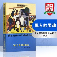 黑人的灵魂 英文原版书 The Souls of Black Folk 英文版原版散文集 Signet Classic