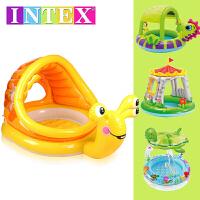 充气水池海洋球池沙池遮阳泳池 儿童婴儿游泳池小孩家庭