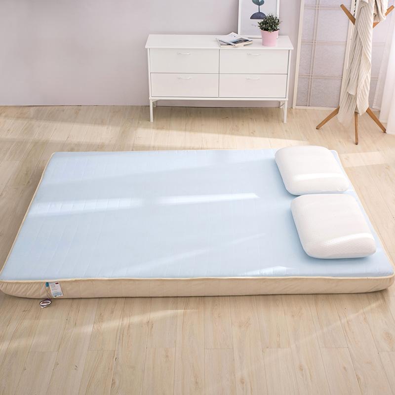 加厚记忆棉床垫慢回弹双人1.5米1.8m床褥子1.2m单人海绵软床垫子   自有大型记忆棉生产工厂,365天睡塌包退