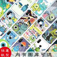 迪士尼小米8se/9手机壳6x怪兽大学5x note3/2软max2卡通mix2s个性