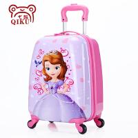 /儿童拉杆箱女16寸万向轮卡通旅行箱宝宝可坐行李箱公主20寸SN2694