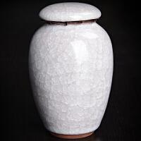 冰裂茶叶罐陶瓷整套功夫茶具 普洱铁观音密封罐