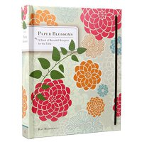 现货英文原版 纸花:一本弹出的书 Paper Blossoms A Pop-up Book 立体繁花 纸花艺术设计立体书