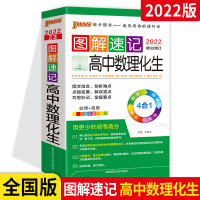 2020版第7次修订 PASS绿卡图书高中数理化生图解速记 必修+选修全彩版 数学物理化学生物4合1 理科口袋书工具书