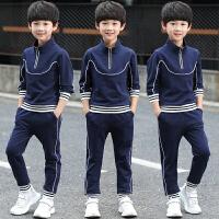 童装男童秋装套装2018新款春秋季中大儿童运动卫衣两件套韩版潮衣