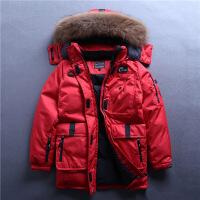 韩国男女情侣户外羽绒服装中长款军工装毛领加厚大码防风防寒外套