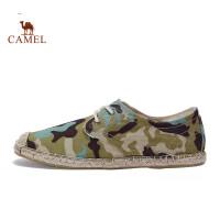 骆驼休闲男鞋 低帮鞋轻便透气帆布鞋防滑耐磨休闲鞋男士